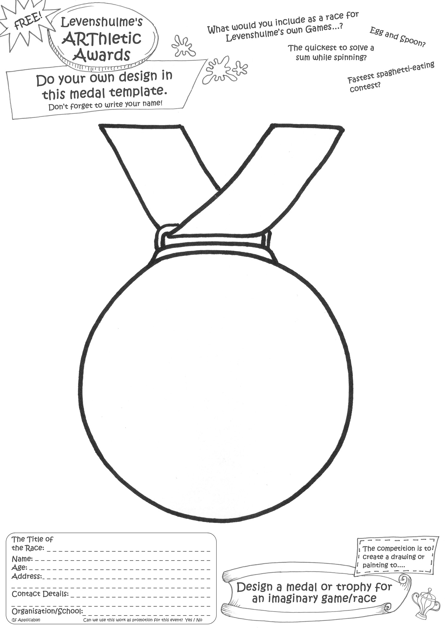 Pin Medal template On Pinterest