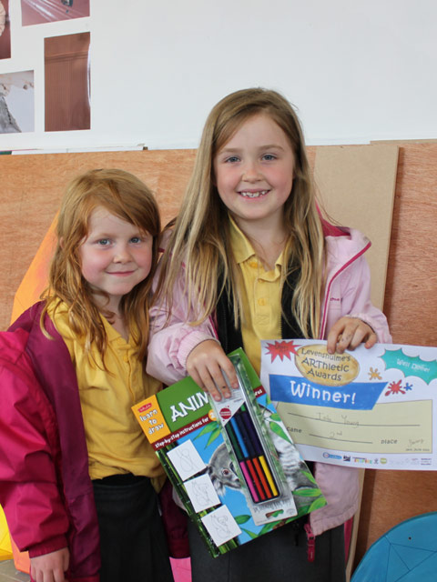 Second Place - Isla Young and Erin Young